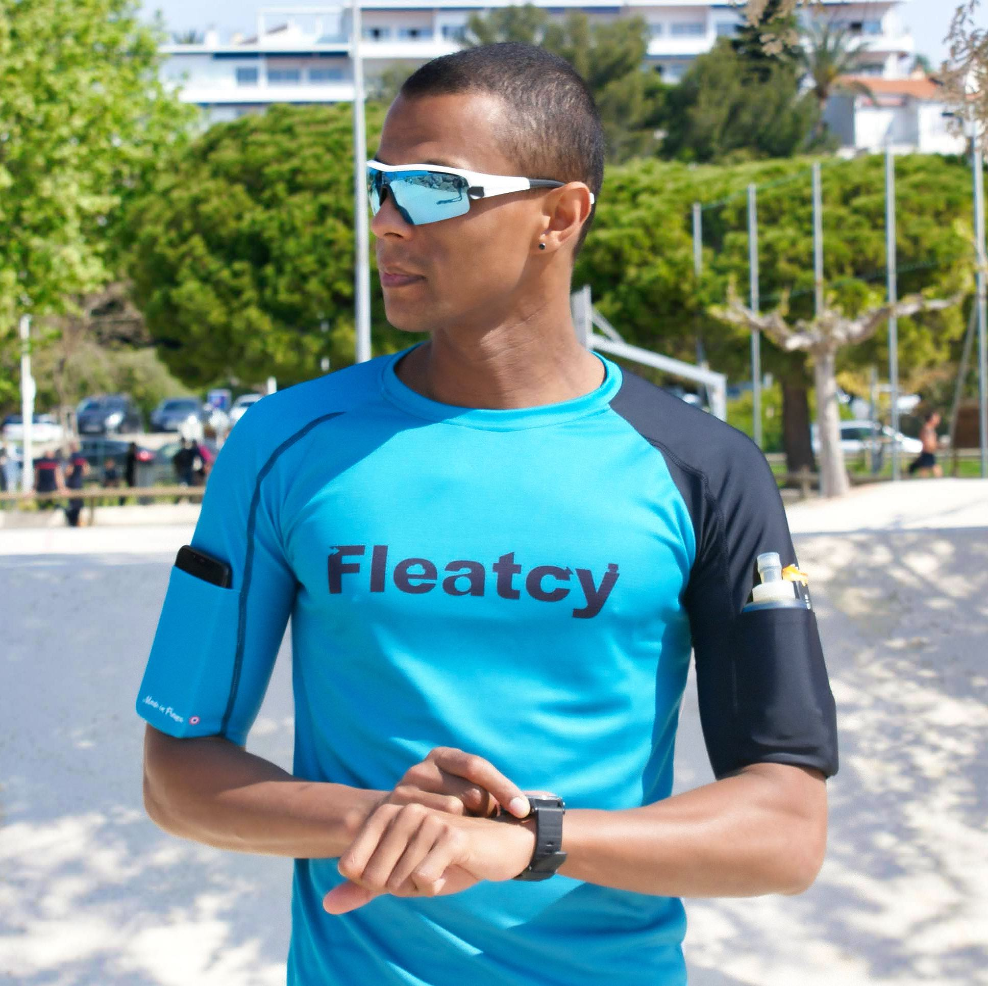 t-shirt running made in france fleatcy